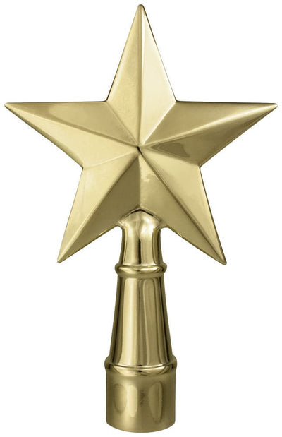 Texas Star Flagpole Ornament