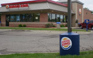Burger King Poletector