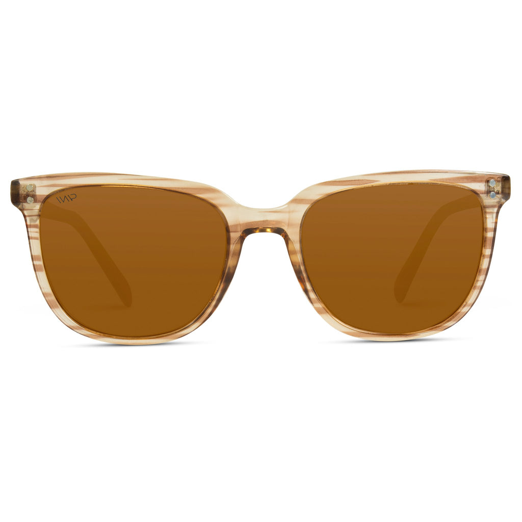 Abner Sunglasses in Brown Frame/Brown Lens