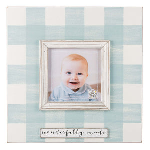 Wonderfully Made Blue Frame