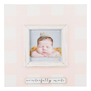 Wonderfully Made Pink Frame