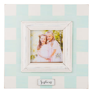 Sisters Plaid Frame