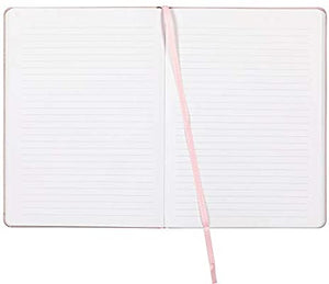 Pink Leatherette Journal - Talk is Chic