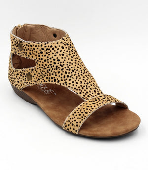 Corkys Jayde Sandals in Brown Speckled