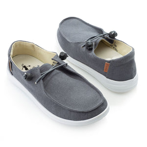 Kayak Canvas Slip On Sneaker - Denim