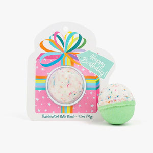 Cait + Co Happy Birthday Bath Bomb Clamshell