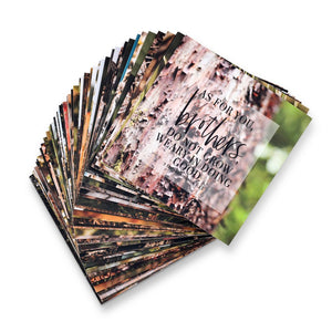 Men's Scripture Cards - Set of 52
