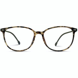 Logan Blue Light Glasses - Cream Tortoise Frame