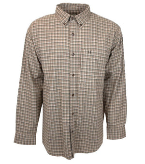 Stonecamp Brushed Flannel: Navy/Olive