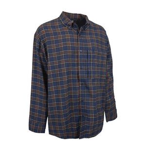 Stonecamp Brushed Flannel: Olive/Navy/Red