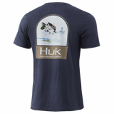 Huk Youth Freshwater Shield Tee -Saragasso Heather