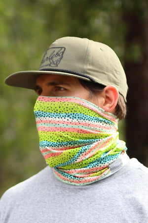 Burlebo -Rainbow Trout Neck Gaiter