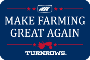Turnrows Make Farming Great Again Sticker