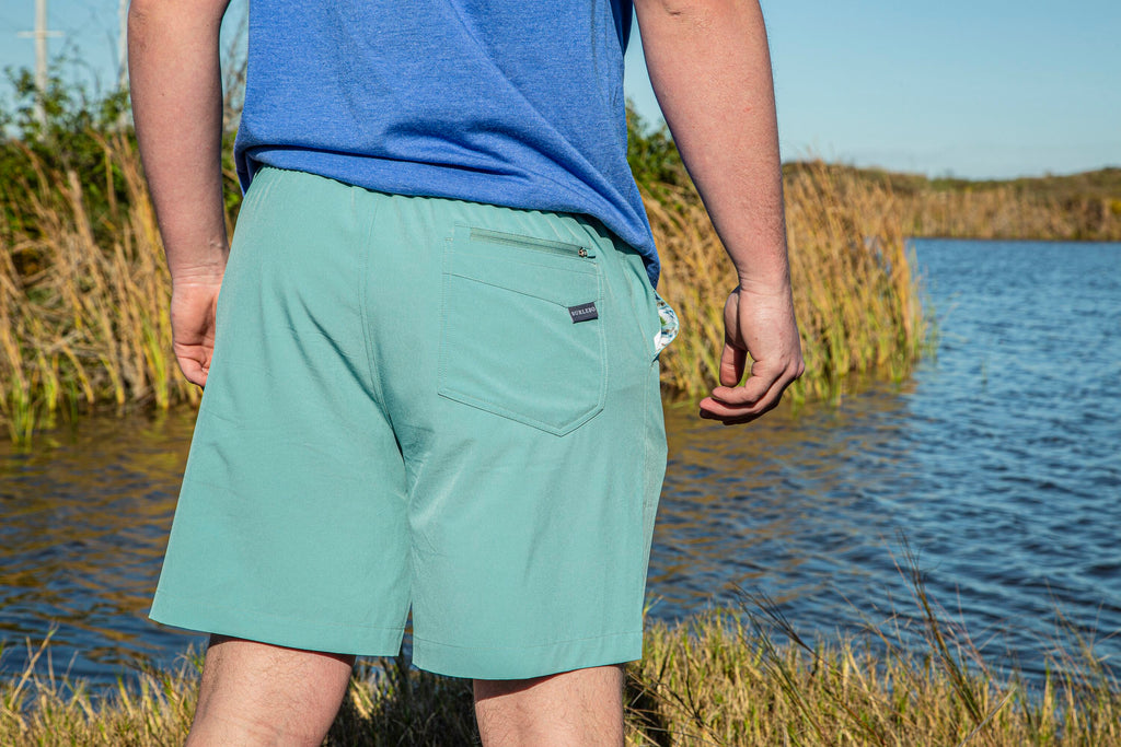 Performance Shorts - Chalky Mint - Ducks Pocket