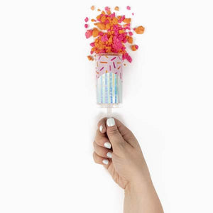 You Glow Girl Bath Bomb Confetti Push Pop