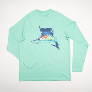Southern Point Co. Youth UPF Tee - Marlin