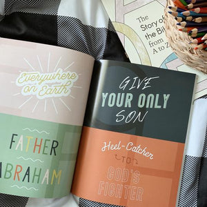 Story of the Bible From A to Z - Kids & Family Devotional