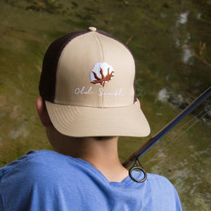 Old South Cotton Trucker Hat - Youth
