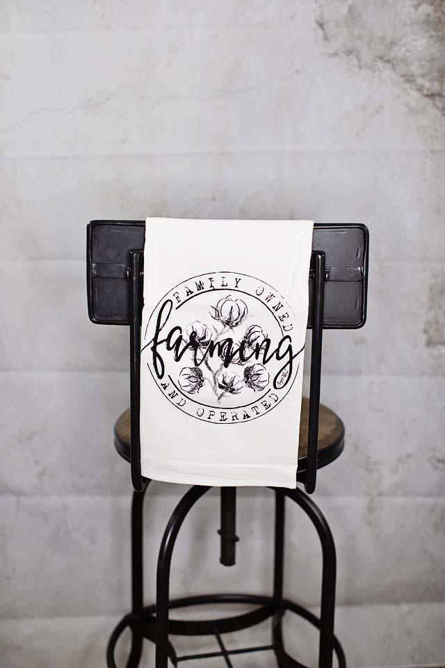 Farming Tea Towel