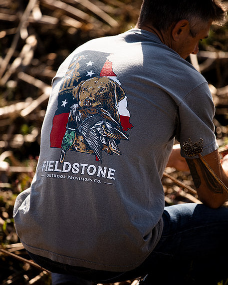 Fieldstone Georgia Bird Dog Short Sleeve T-Shirt