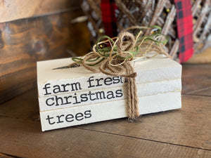 Farm Fresh Christmas Trees Bookwords Bundle