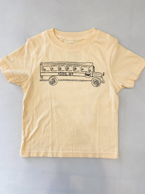 Yellow School Bus Tee
