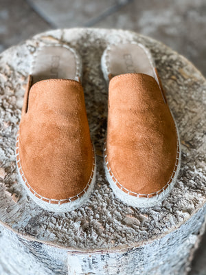 Taffy Slip-ons in Brown