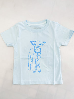 Kids Blue Lamb Tee