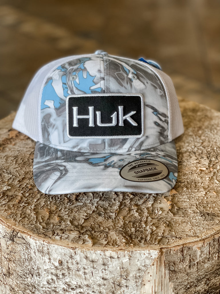 Huk Youth Mossy Oak Hydro Mesh