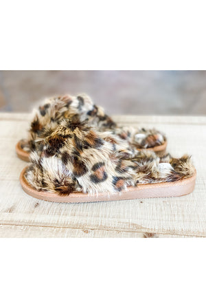 Slumber Slippers in Leopard