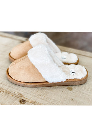 Snooze Slippers in Chestnut