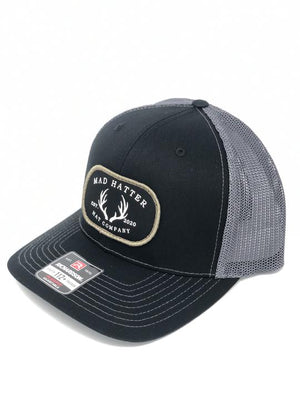 MHC Antler Patch Charcoal Black