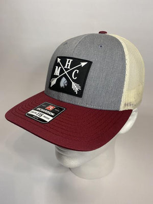 MHC Rubber Arrow Heather Grey/Birch/Cardinal