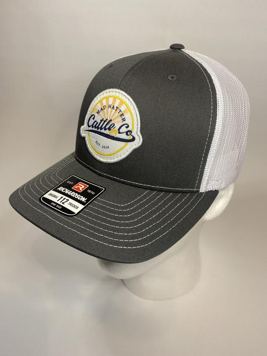 MHC Cattle Co Charcoal/White