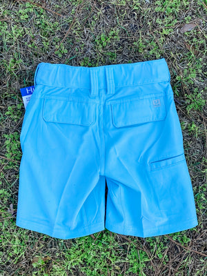 HUK Youth Rogue Shorts -Ice Blue