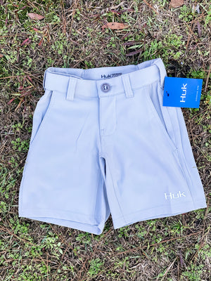 HUK Youth Rogue Shorts -Grey