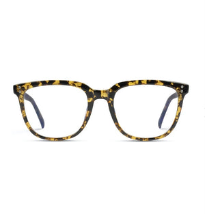 Lennox Blue Light Glasses in Brown Tortoise