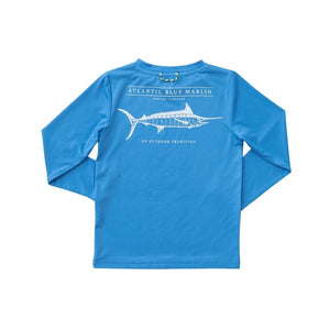 Prodoh Blue Marlin Sunshirt in Blue Perennial