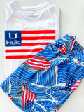American Fin Swim Trunks