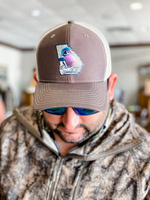East Coast Waterfowl Georgia Wood Duck State Patch Hat