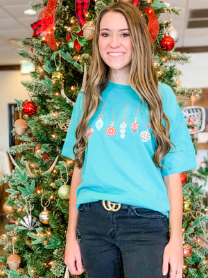 Ornament Tee in Mint