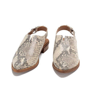 Freedah Mule in Snakeskin