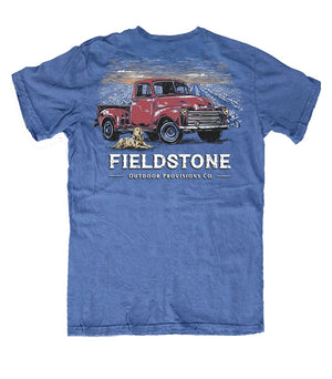 Fieldstone Youth Red Truck Short Sleeve T-Shirt