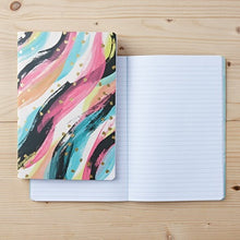Load image into Gallery viewer, HAPPY IS THE ONLY PLAN - 2pk notebook