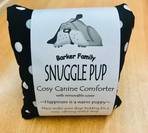 DOGGY SNUGGLE PUP - Barker Family cosy canine comforter