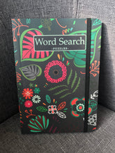 Load image into Gallery viewer, FLORAL GREY WORD SEARCH - Puzzle book
