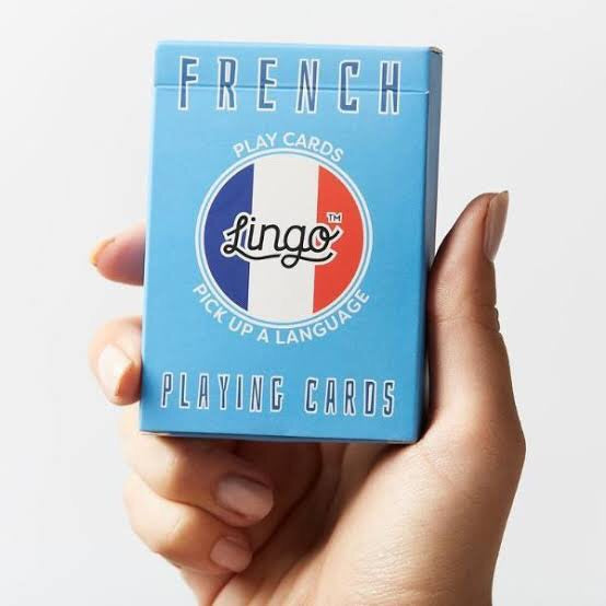 FRENCH - Lingo playing cards