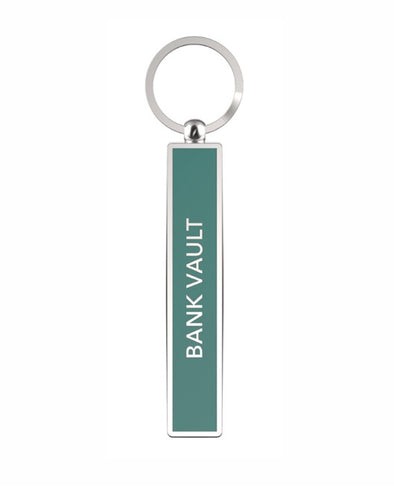 BANK VAULT - Show Off Key Rings