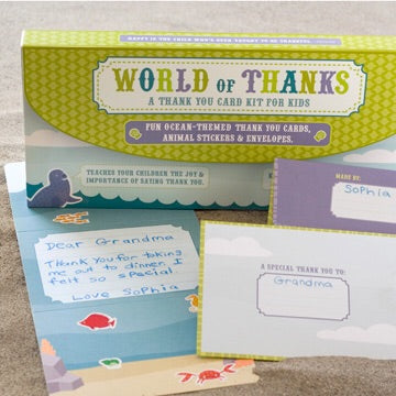WORLD OF THANKS - Ocean Habitat Kids Kit