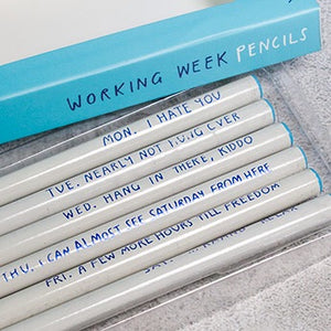 WORKING WEEK PENCILS - Pencil Set